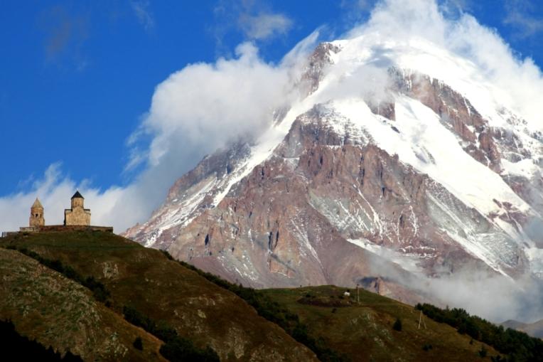 Kazbek mountain - Georgia