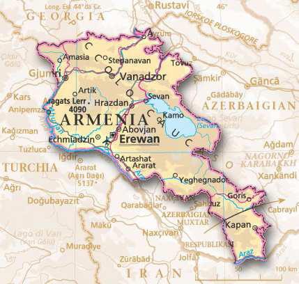 5°Parte: Yerevan-Kapan-Rustavi