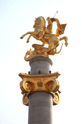 St. George statue- Tbilisi
