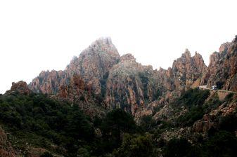 Calanche cliffs