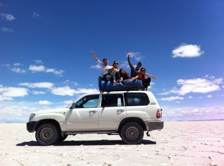 salar de uyuni&my friends