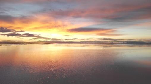 sunrise - Salar De Uyuni