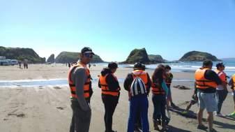 Boarding time - Chiloè island